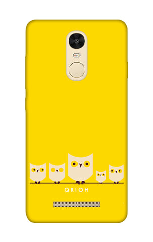Owl Family Xiaomi Redmi Note 3 Cases & Covers Online