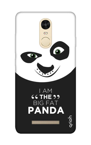 Big Fat Panda Xiaomi Redmi Note 3 Cases & Covers Online