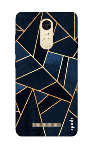 Abstract Navy Xiaomi Redmi Note 3 Cases & Covers Online