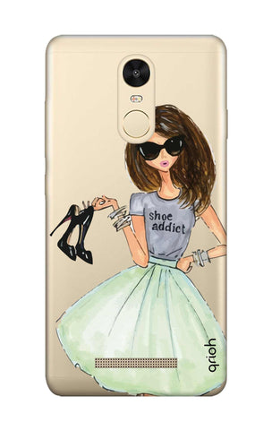 Love For Shoes Xiaomi Redmi Note 3 Cases & Covers Online