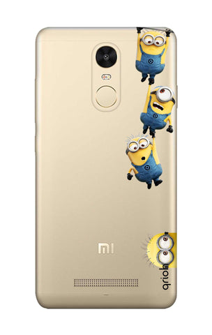 Falling Minions Xiaomi Redmi Note 3 Cases & Covers Online