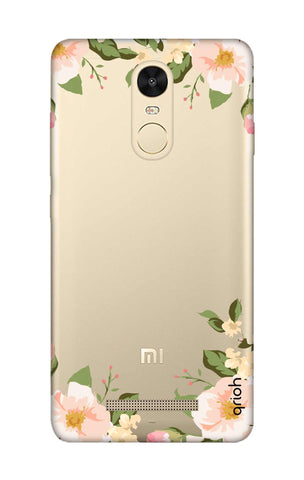 Flower In Corner Xiaomi Redmi Note 3 Cases & Covers Online