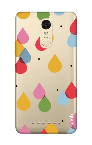Colourful Drops Xiaomi Redmi Note 3 Cases & Covers Online