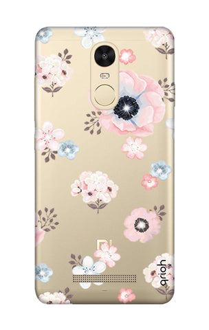 Beautiful White Floral Xiaomi Redmi Note 3 Cases & Covers Online