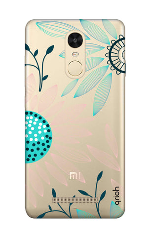 Pink And Blue Petals Xiaomi Redmi Note 3 Cases & Covers Online