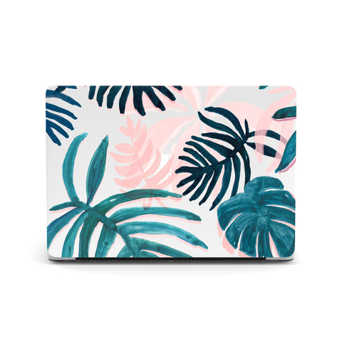 Tropical Leaves Macbook Covers