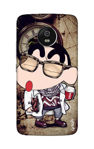 Nerdy Shinchan Motorola Moto G5 Cases & Covers Online