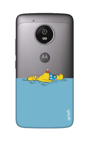 Simpson Chill Motorola Moto G5 Cases & Covers Online