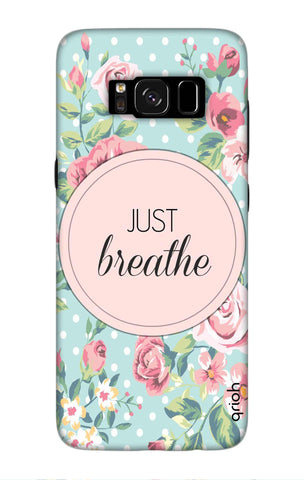 Vintage Just Breathe Samsung S8 Cases & Covers Online