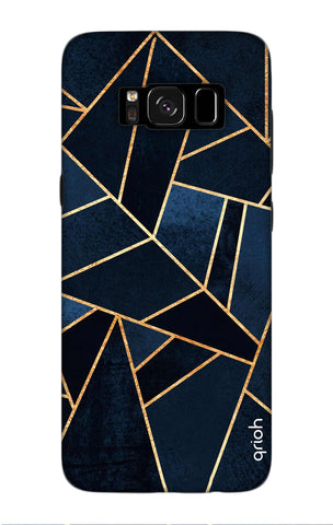 Abstract Navy Samsung S8 Cases & Covers Online