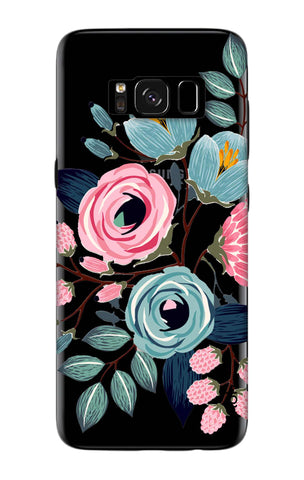 Pink And Blue Floral Samsung S8 Cases & Covers Online