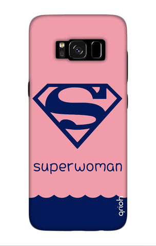 Be a Superwoman Samsung S8 Plus Cases & Covers Online