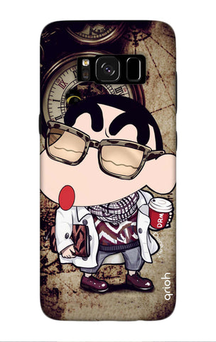 Nerdy Shinchan Samsung S8 Plus Cases & Covers Online