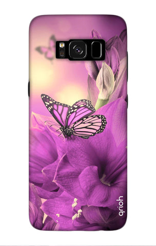 Purple Butterfly Samsung S8 Plus Cases & Covers Online