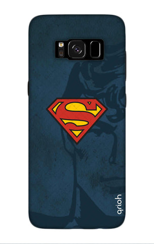 Wild Blue Superman Samsung S8 Plus Cases & Covers Online
