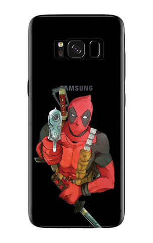 Deadpool Warrier Samsung S8 Plus Cases & Covers Online