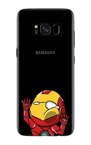 Iron Man Wall Bump Samsung S8 Plus Cases & Covers Online