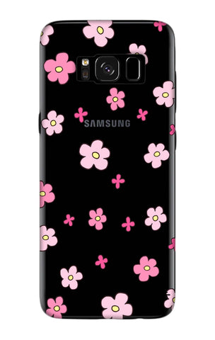 Pink Flowers All Over Samsung S8 Plus Cases & Covers Online