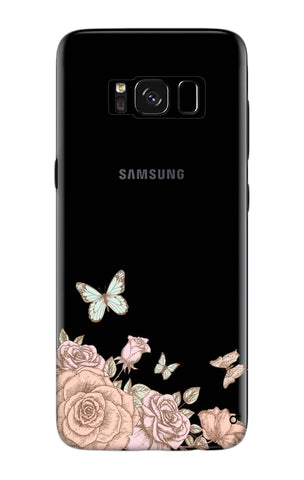 Flower And Butterfly Samsung S8 Plus Cases & Covers Online