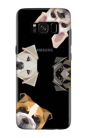 Geometric Dogs Samsung S8 Plus Cases & Covers Online