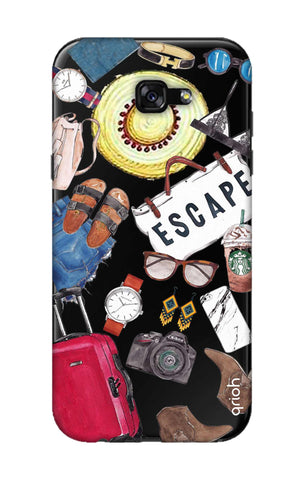 Travel Doodle Samsung A5 2017 Cases & Covers Online