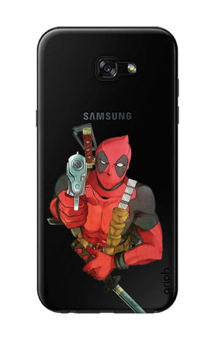 Deadpool Warrier Samsung A5 2017 Cases & Covers Online