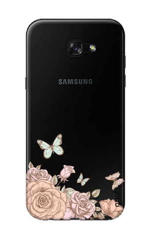 Flower And Butterfly Samsung A5 2017 Cases & Covers Online