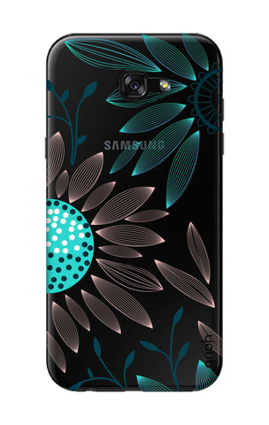 Pink And Blue Petals Samsung A5 2017 Cases & Covers Online