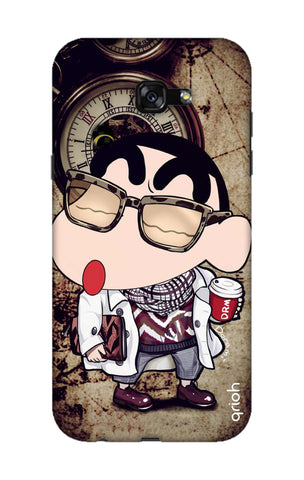 Nerdy Shinchan Samsung A7 2017 Cases & Covers Online