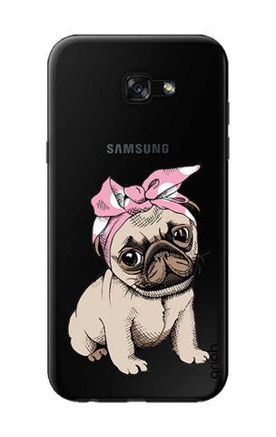 Pink Puggy Samsung A7 2017 Cases & Covers Online