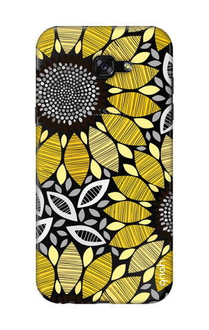 Stitched Floral Samsung A7 2017 Cases & Covers Online