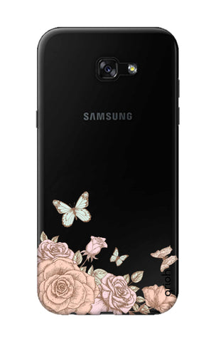 Flower And Butterfly Samsung A7 2017 Cases & Covers Online