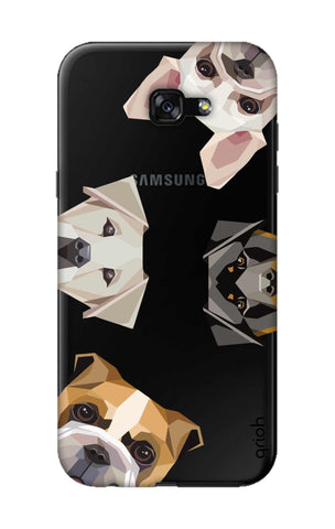 Geometric Dogs Samsung A7 2017 Cases & Covers Online