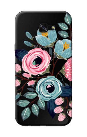 Pink And Blue Floral Samsung A7 2017 Cases & Covers Online