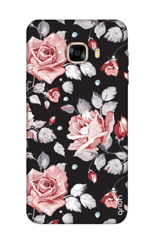 Shabby Chic Floral Samsung C7 Pro Cases & Covers Online