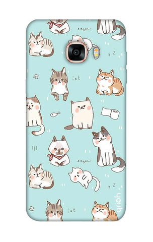 Cat Kingdom Samsung C7 Pro Cases & Covers Online