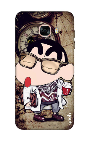 Nerdy Shinchan Samsung C7 Pro Cases & Covers Online