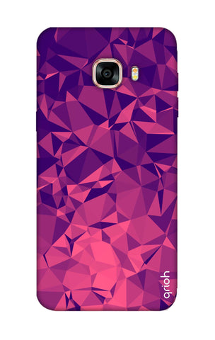 Purple Diamond Samsung C7 Pro Cases & Covers Online