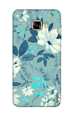 White Lillies Samsung C7 Pro Cases & Covers Online