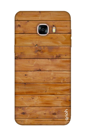 Natural Wood Samsung C7 Pro Cases & Covers Online