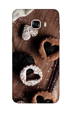 Heart Cookies Samsung C7 Pro Cases & Covers Online