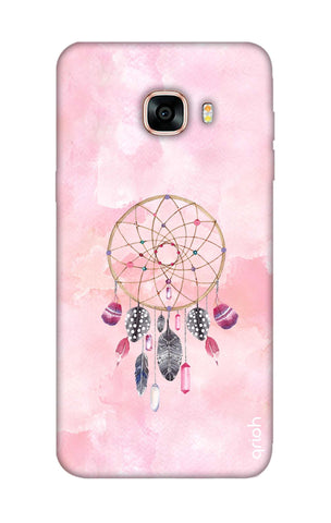 Pink Dreamcatcher Samsung C7 Pro Cases & Covers Online