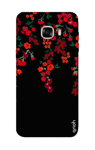 Floral Deco Samsung C7 Pro Cases & Covers Online