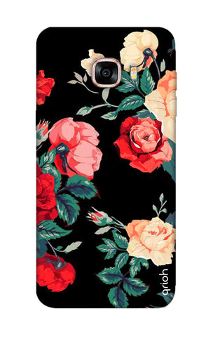 Floral Pattern Samsung C7 Pro Cases & Covers Online
