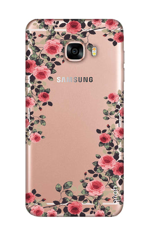 Floral French Samsung C7 Pro Cases & Covers Online