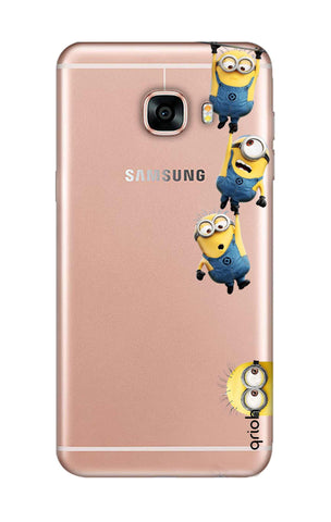 Falling Minions Samsung C7 Pro Cases & Covers Online