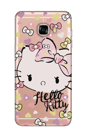 Bling Kitty Samsung C7 Pro Cases & Covers Online