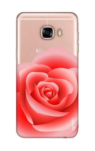 Peach Rose Samsung C7 Pro Cases & Covers Online