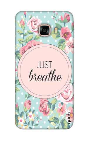 Vintage Just Breathe Samsung C9 Pro Cases & Covers Online