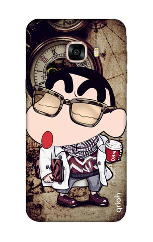 Nerdy Shinchan Samsung C9 Pro Cases & Covers Online